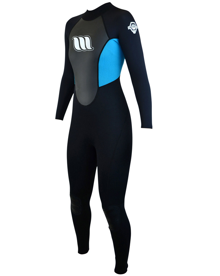 West Wetsuits - Enforcer Ladies Flatlock Steamer Aqua