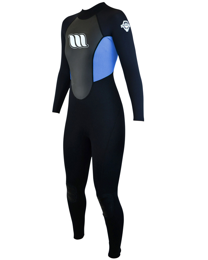 West Wetsuits - Enforcer Ladies Flatlock Steamer Blue