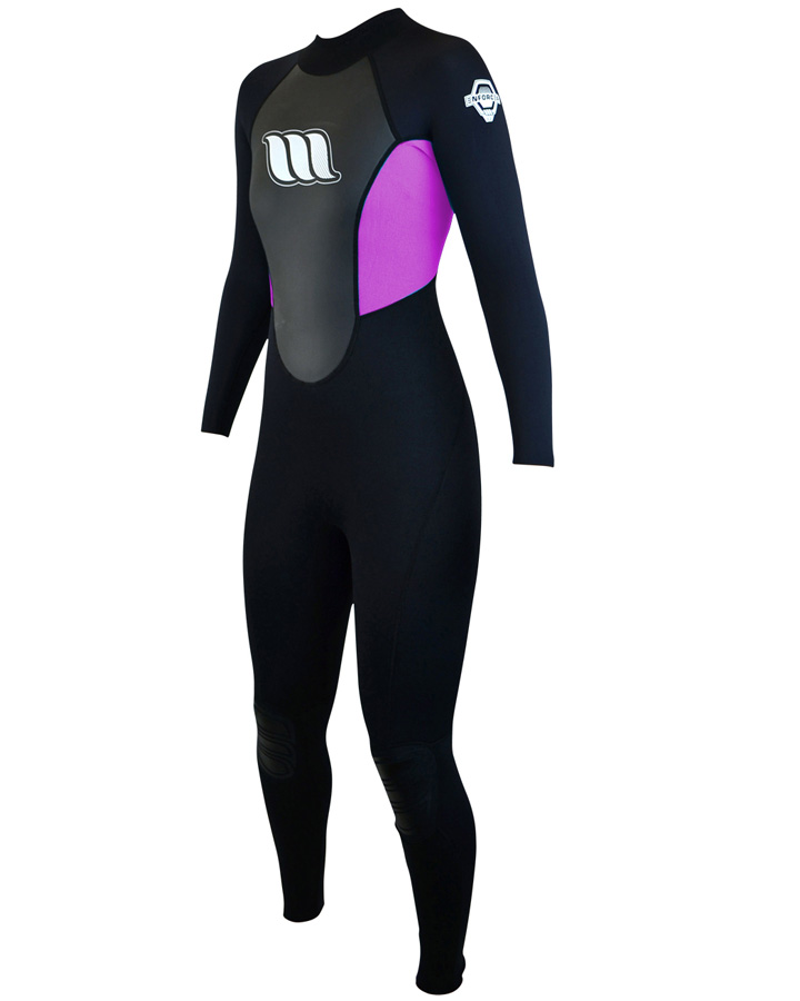 West Wetsuits - Enforcer Ladies Flatlock Steamer Pink