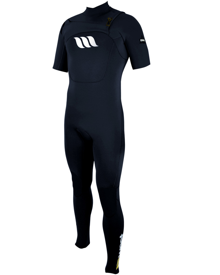 West Wetsuits - Edge Male GBS S/S Steamer Black