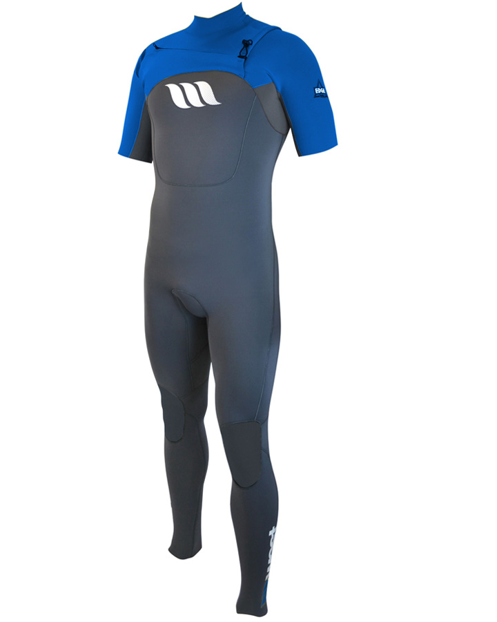 West Wetsuits - Edge Male GBS S/S Steamer Blue