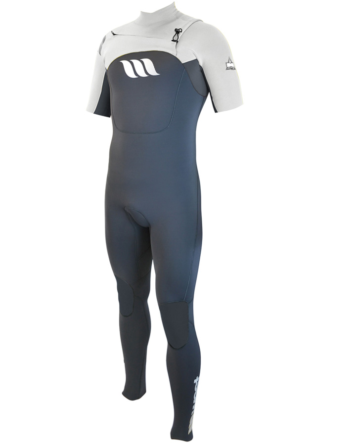West Wetsuits - Edge Male GBS S/S Steamer White