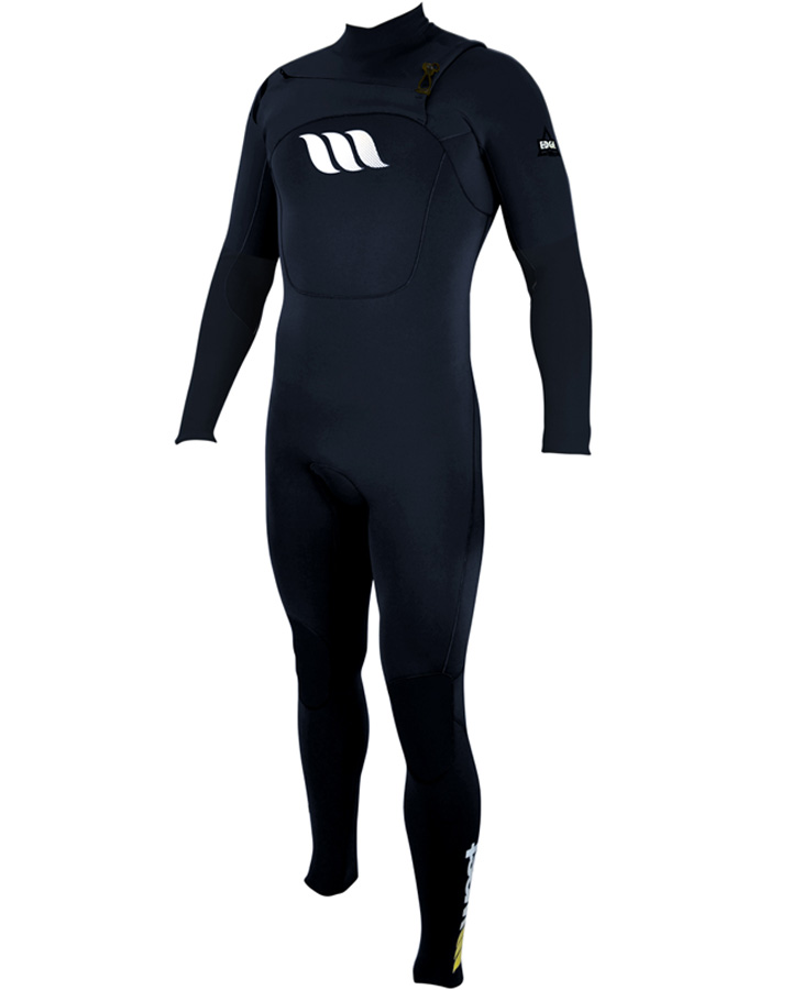 West Wetsuits - Edge Male GBS Steamer Black