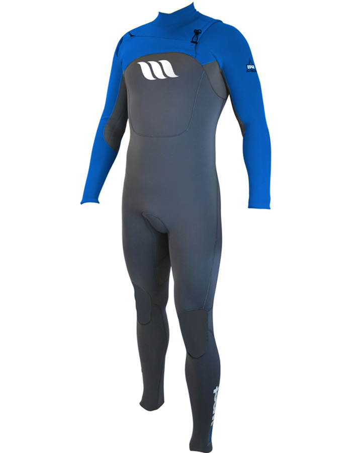 West Wetsuits - Edge Male GBS Steamer Blue