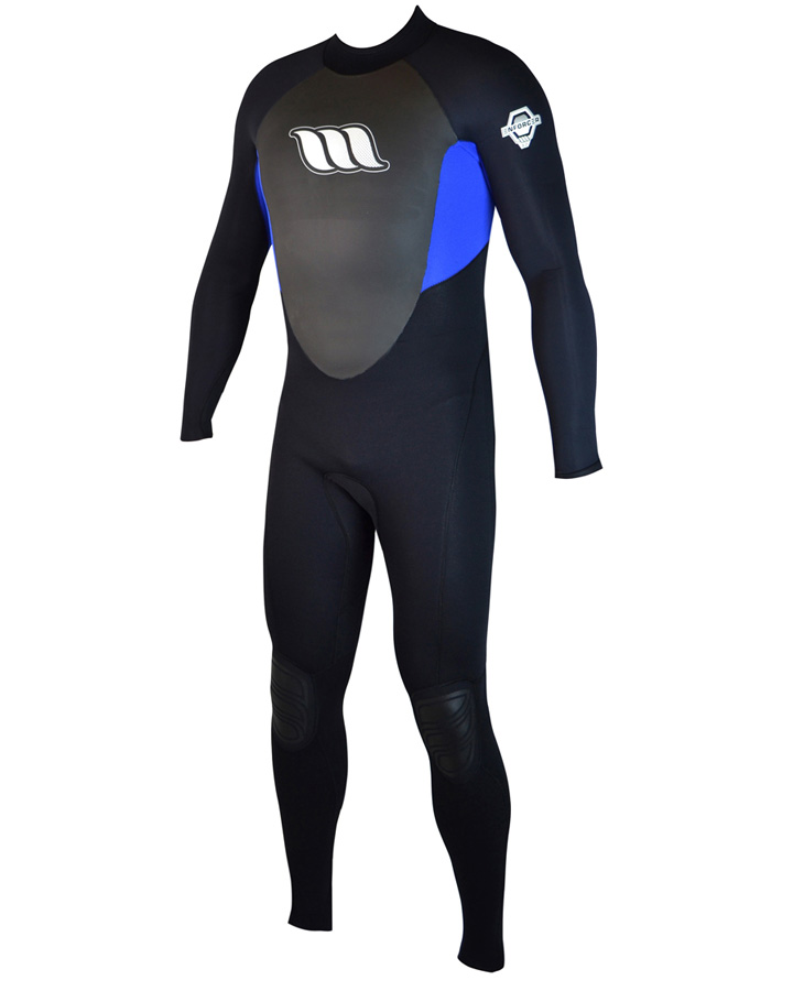 West Wetsuits - Enforcer Male Flatlock Steamer Blue