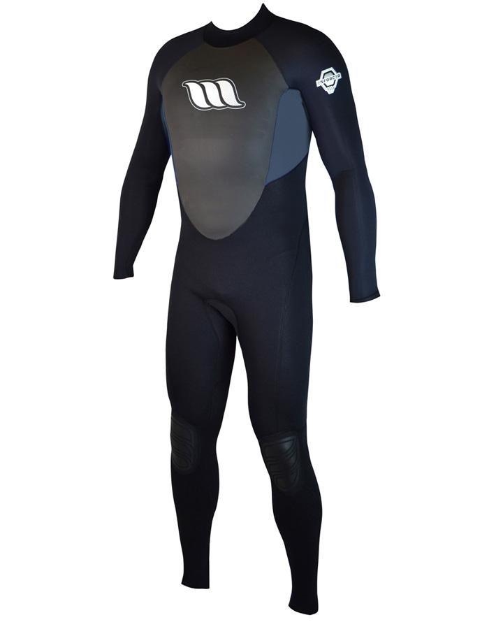 West Wetsuits - Enforcer Male Flatlock Steamer Graphite