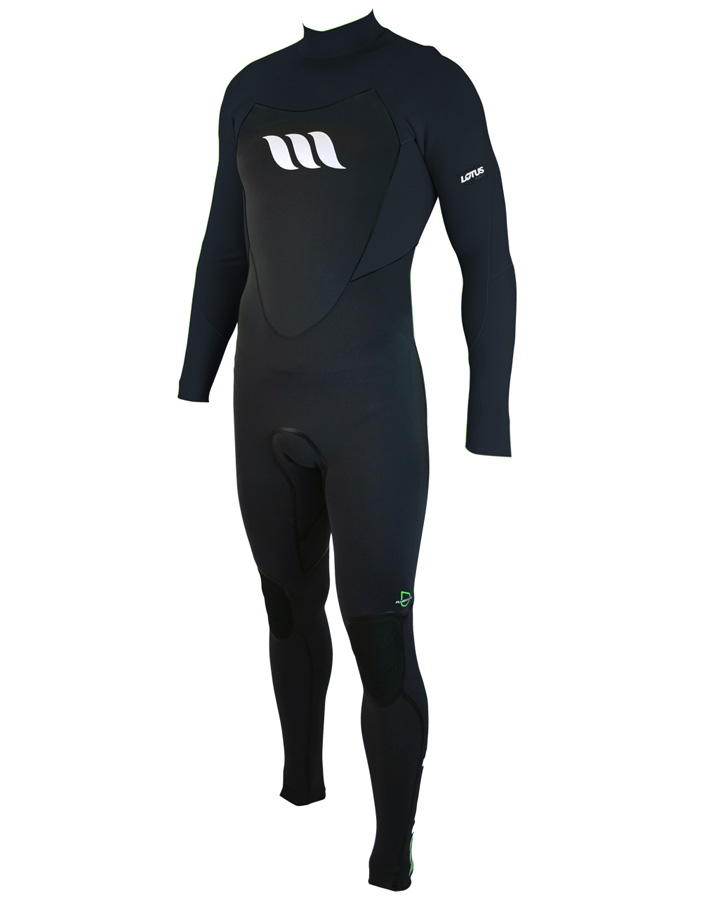 West Wetsuits - Lotus Lite Male GBS Steamer Black