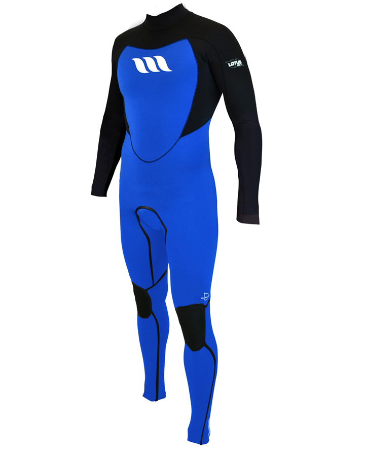 West Wetsuits - Lotus Lite Male GBS Steamer Blue