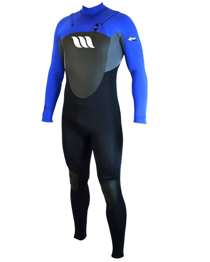 West Wetsuits - Nitro Male GBS Steamer Blue