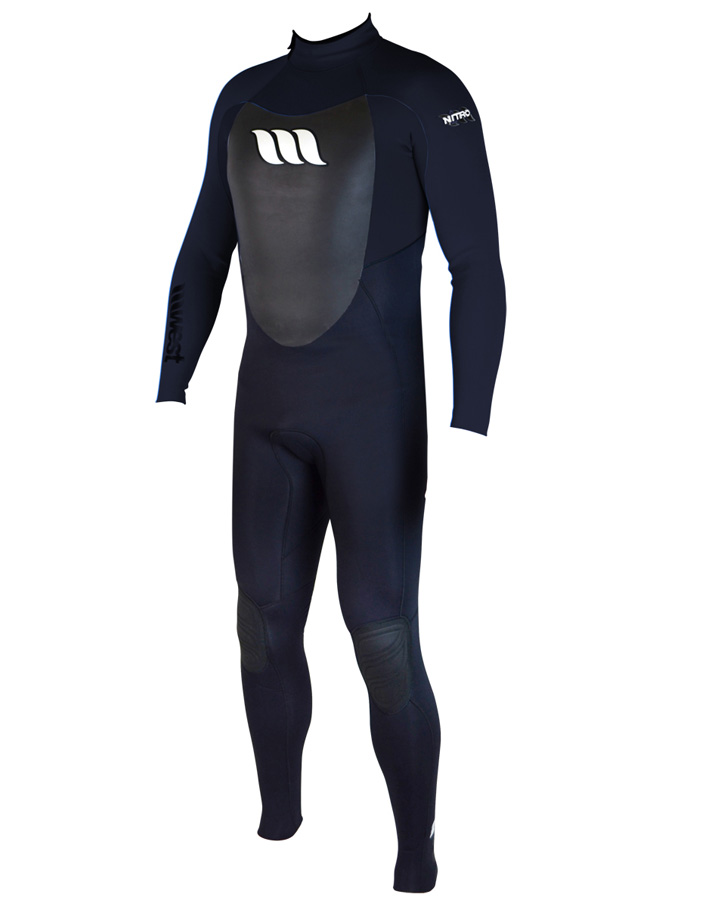 West Wetsuits - Nitro Male GBS Steamer Black