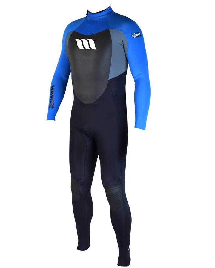West Wetsuits - Nitro Male GBS Steamer Blue