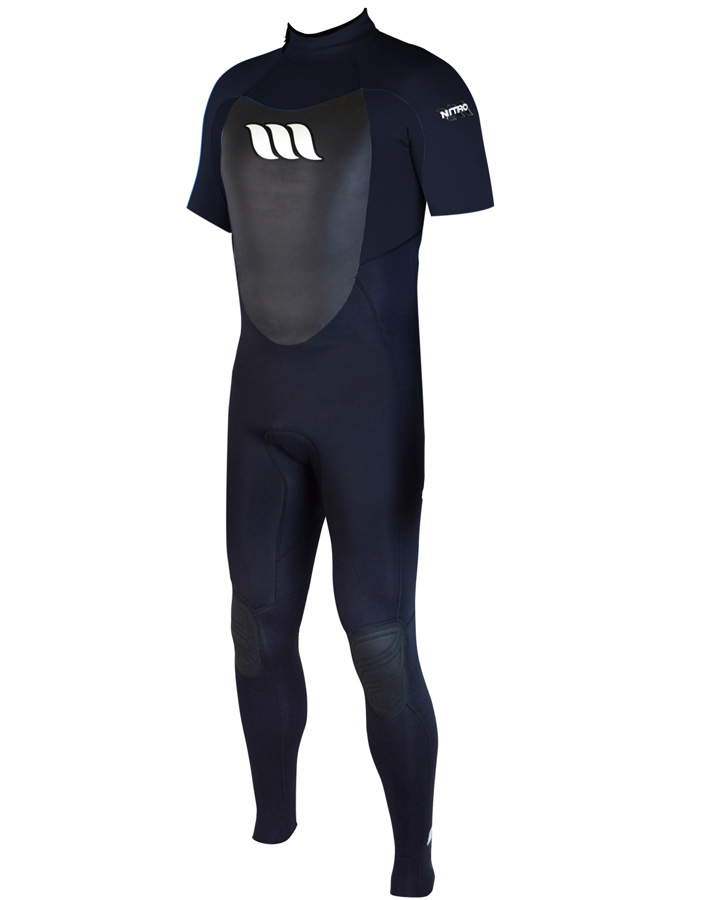 West Wetsuits - Nitro Male GBS S/S Steamer Black