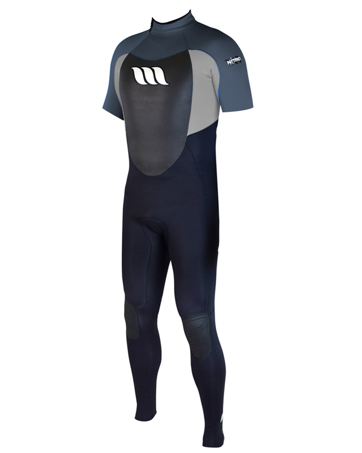 West Wetsuits - Nitro Male GBS Steamer Graphite
