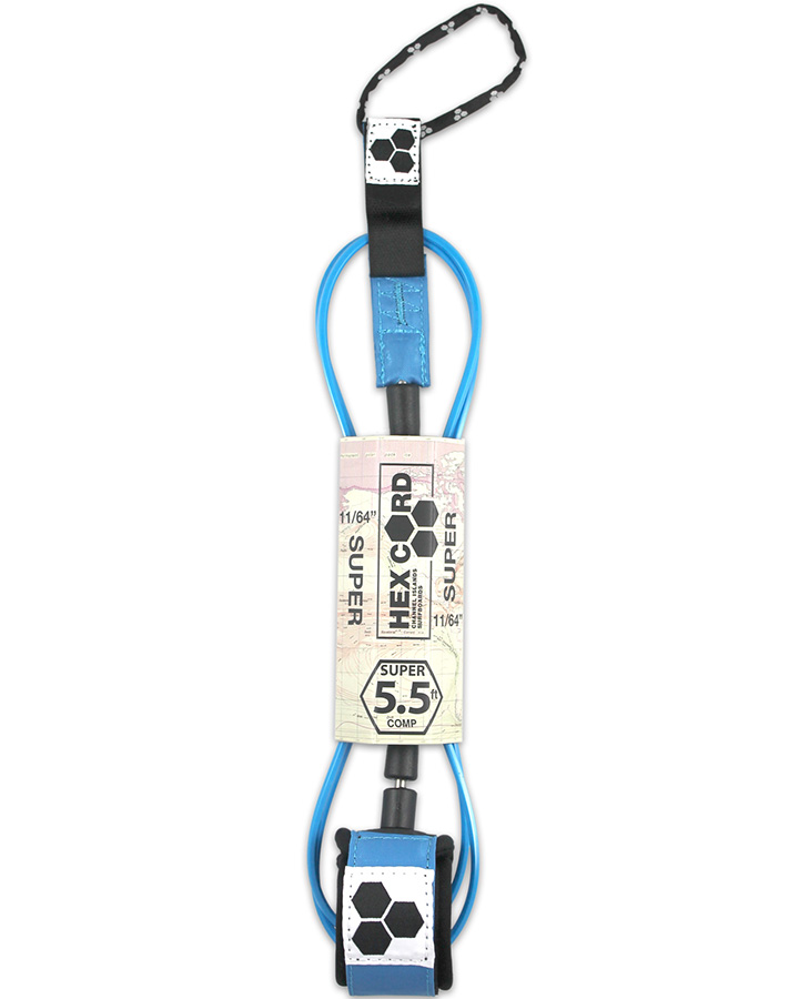 Channel Islands - Hex Cord Leash 6' Comp