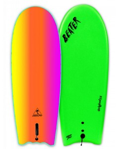 Pranchas Catch Surf - Beater Original Single Fin Lime