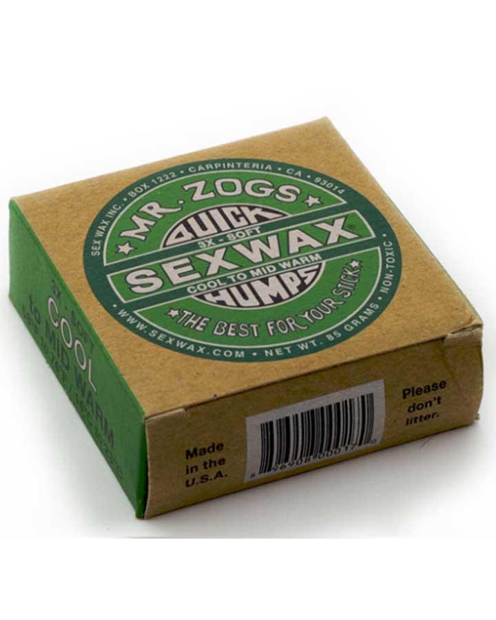 Sex Wax - Sex Wax Quick Humps Green Label Agua Fria